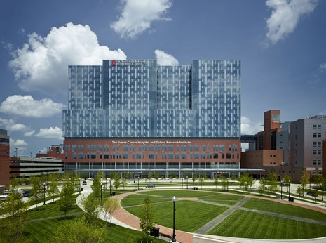 Image of the James Cancer Hospital