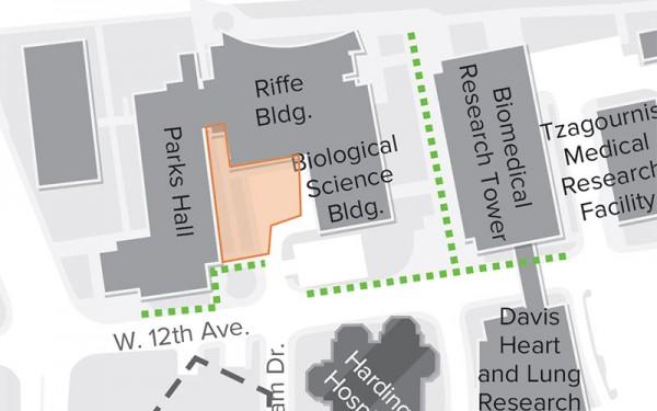 Image of Parks Hall Detour