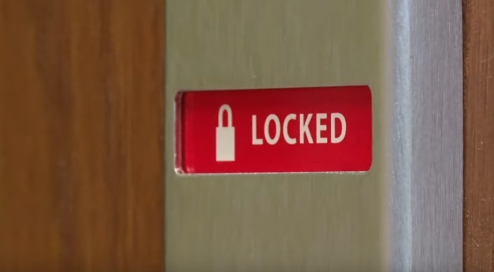 classroom lock
