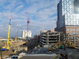 Photo of North and South Cannon Garage Demo