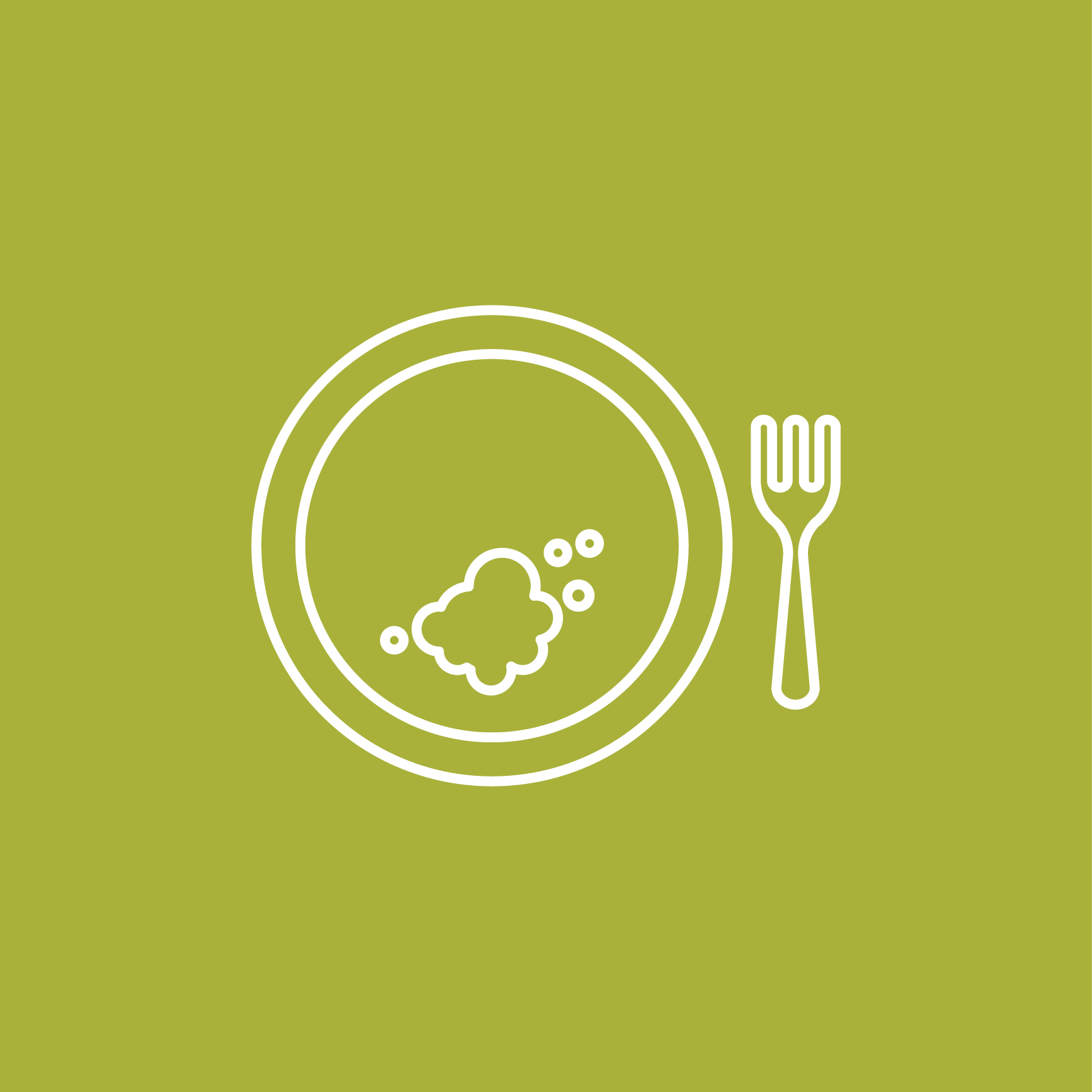 Icon of dirty plate