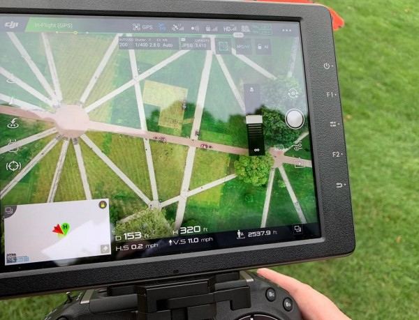 Technology Assists Autumn Landscaping Facilities Operations And